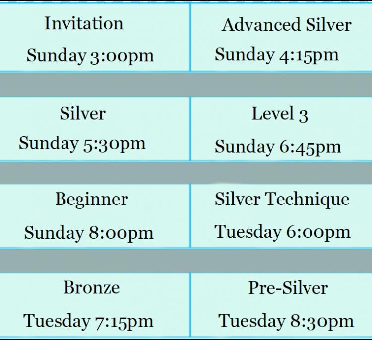 dorval class schedule1 en